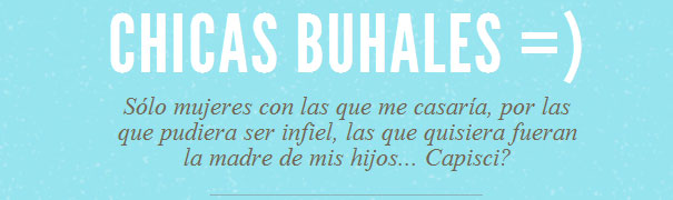 Chicas Buhales